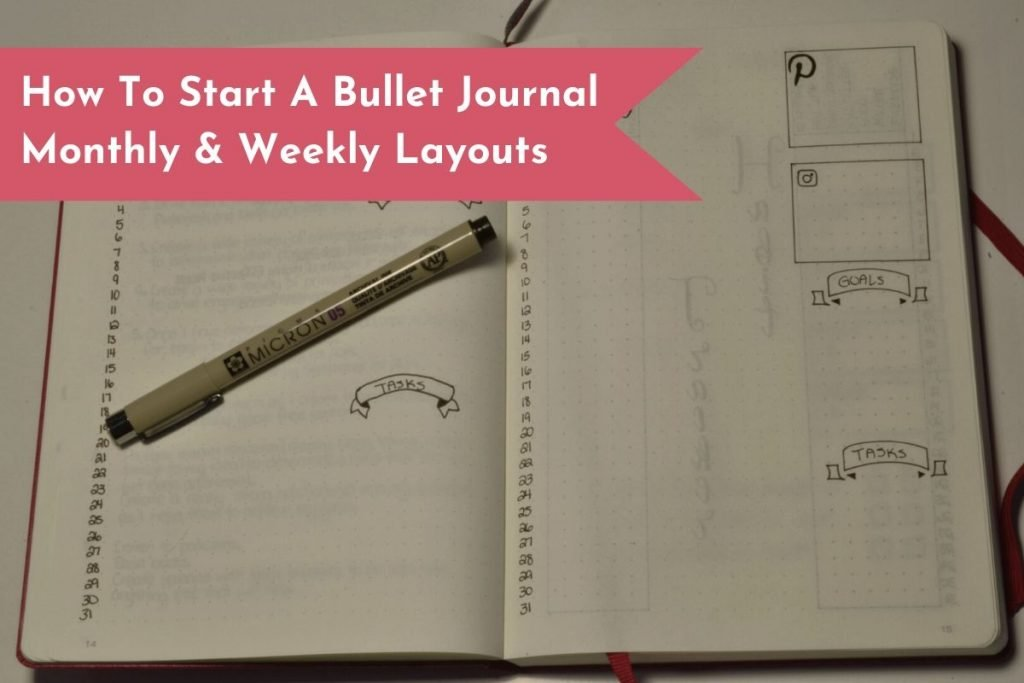 Create your first monthly and weekly layouts in less than twenty minutes.