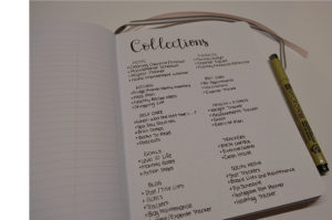 Collections Bullet List