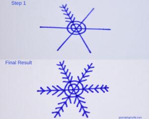 Snowflake Doodle