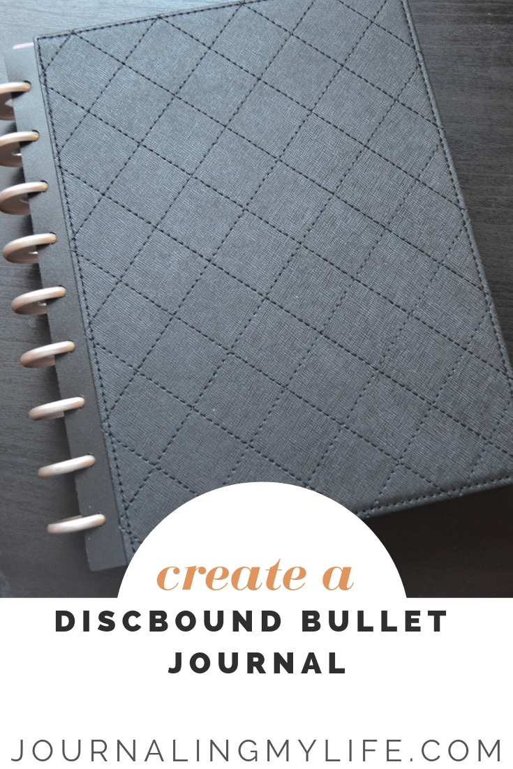 Want to create a Discbound Bullet Journal? This system provides a lot of flexibility within your system, and in this post, I show you how you can create your own!