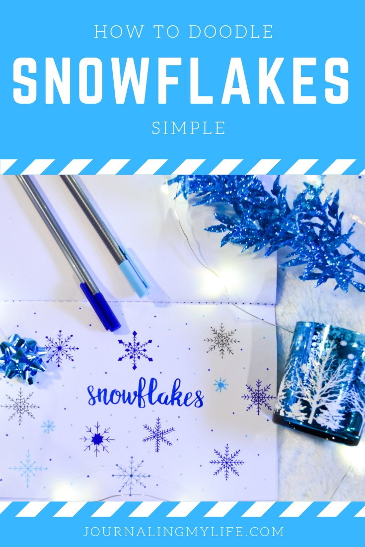 How To Doodle Snowflakes