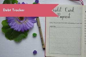 Is your goal to work towards paying off your debts? Start a Bullet Journal debt tracker to help you track your results.