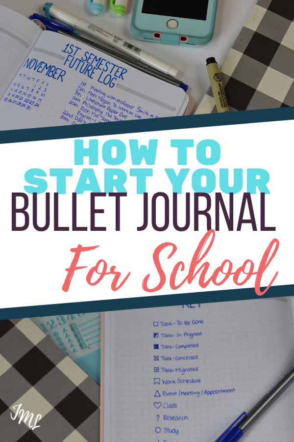 Get your Bullet Journal For School set up with the perfect layouts and collections or organize your classes, projects, exams, and more!