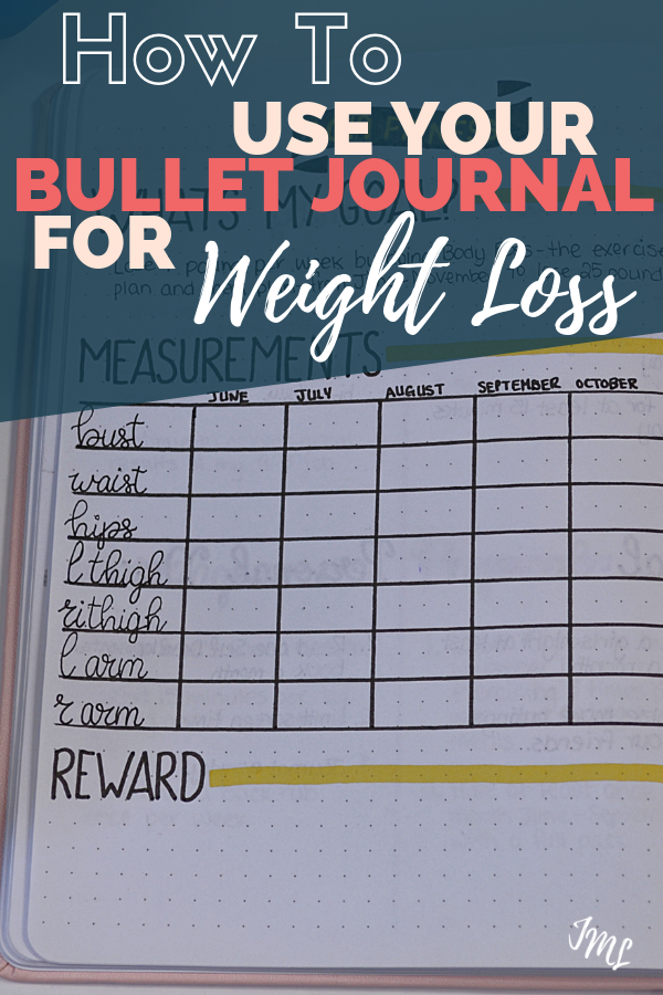 Bullet Journals are a great tool when you are trying to lose weight and get healthy! Check out some different layout ideas, and get discover some things you can include in your layouts to set yourself up for success!