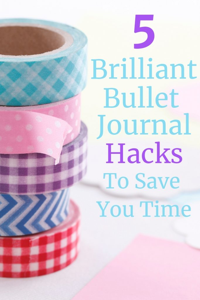 Bullet Journals can be time consuming , but it doesn't have to be! Discover 5 hacks that will help you get your layouts set up in less time!