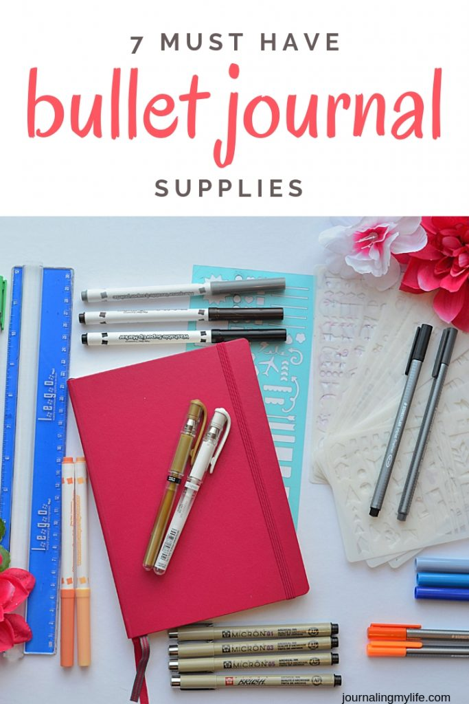 7 Must Have Supplies for your Minimalist Bullet Journal or DIY Planner.