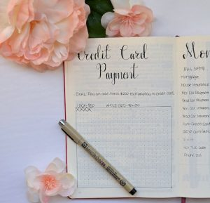 Trackers are a great way to track your progress for any goals you have set! This Credit Card Tracker gives me a visual of how much money we have paid to our Credit Card, until we are able to mark off every box!