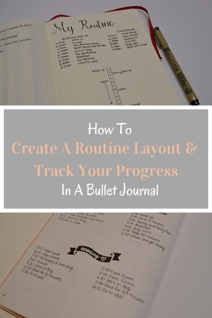 Daily routines have so many great benefits, but I know how hard it can be to follow it. In this post, I show you how you can use a Bullet Journal to create a minimalist routine layout, and track how you use it!