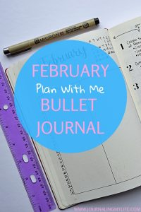 In this plan with me Bullet Journal post, we will set up our February layouts. Find minimalist layout inspiration, as well as some moderately decorated layout inspiration!