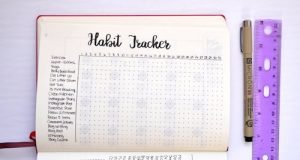 Find ideas and inspiration for a minimalist tracker layout, perfect for your Bullet Journal or DIY Planner.