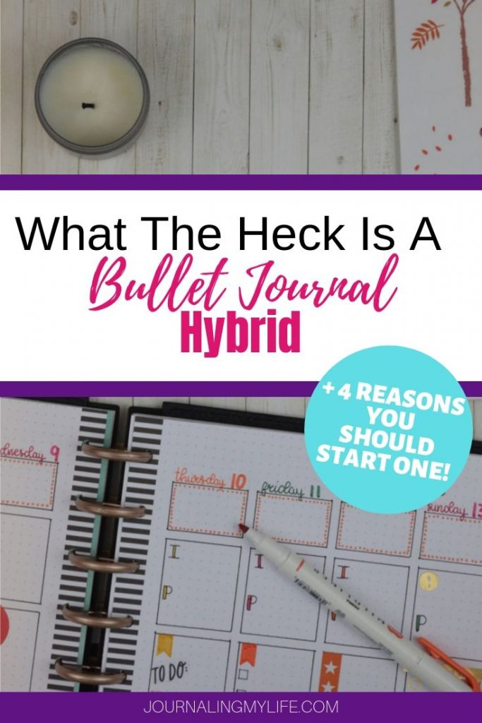 Learn more about the Bullet Journal Planner Hybrid. This planning solution will help you overcome your Bullet Journal struggles, giving you the best of both worlds.