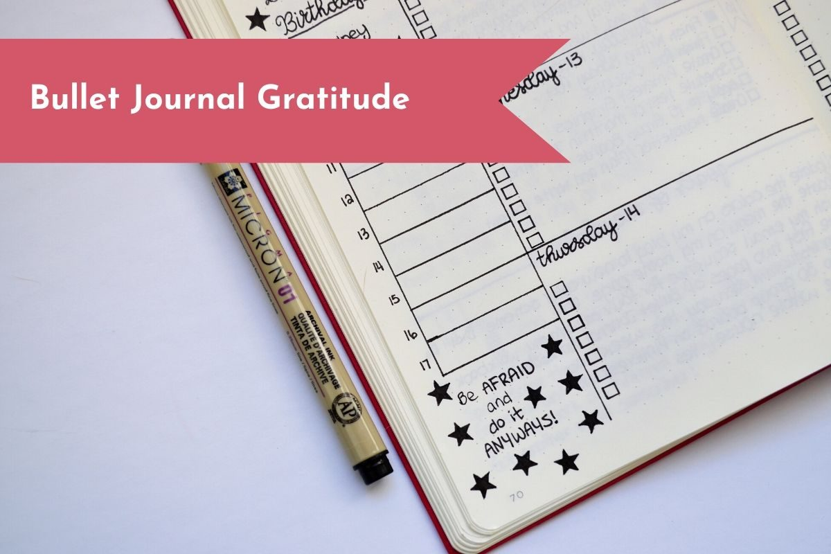 Gratitude can help you stay positive throughout the day, and keep you focused.