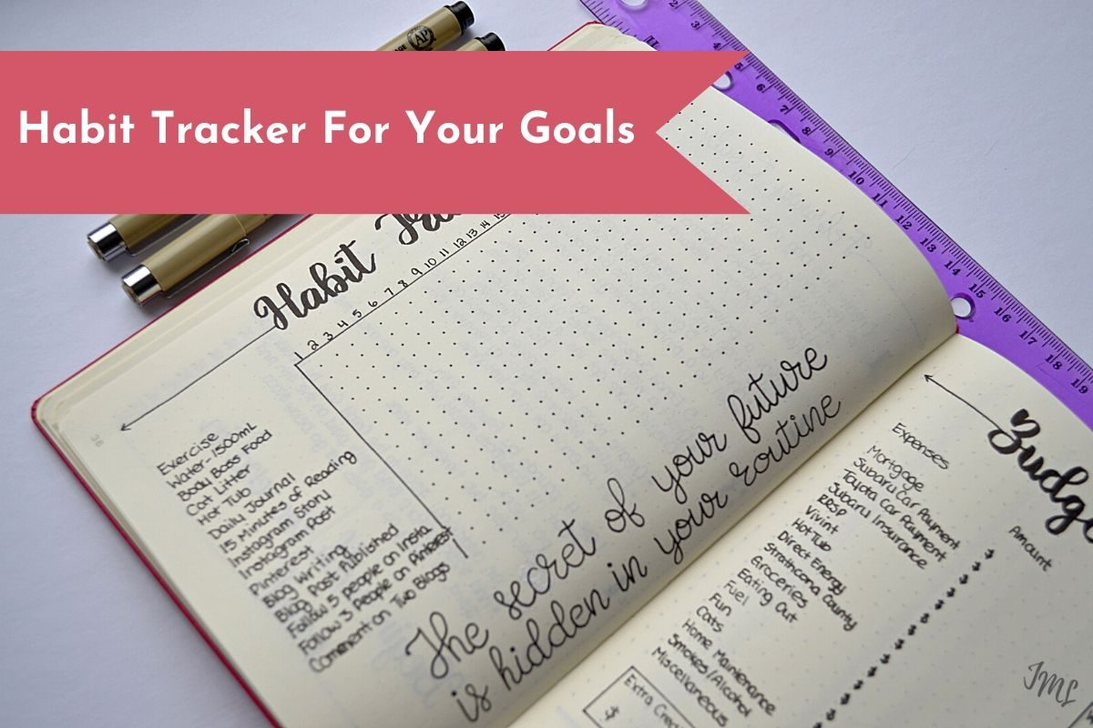 Learn how you can utilize habit trackers to track your progress of your goals, quitting bad habits, and more!